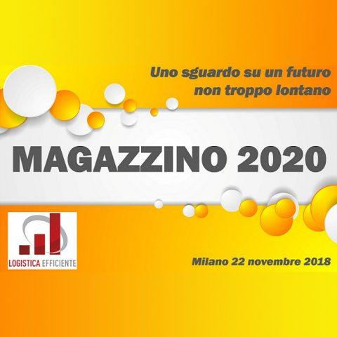 Magazzino 2020   22 novembre 2018