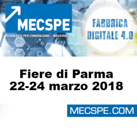 Incas ha partecipato al MECSPE 2018