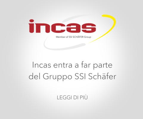 Incas entra a far parte del Gruppo SSI Schäfer